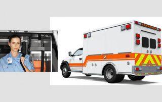 tarjetas identificativas servicio ambulancias